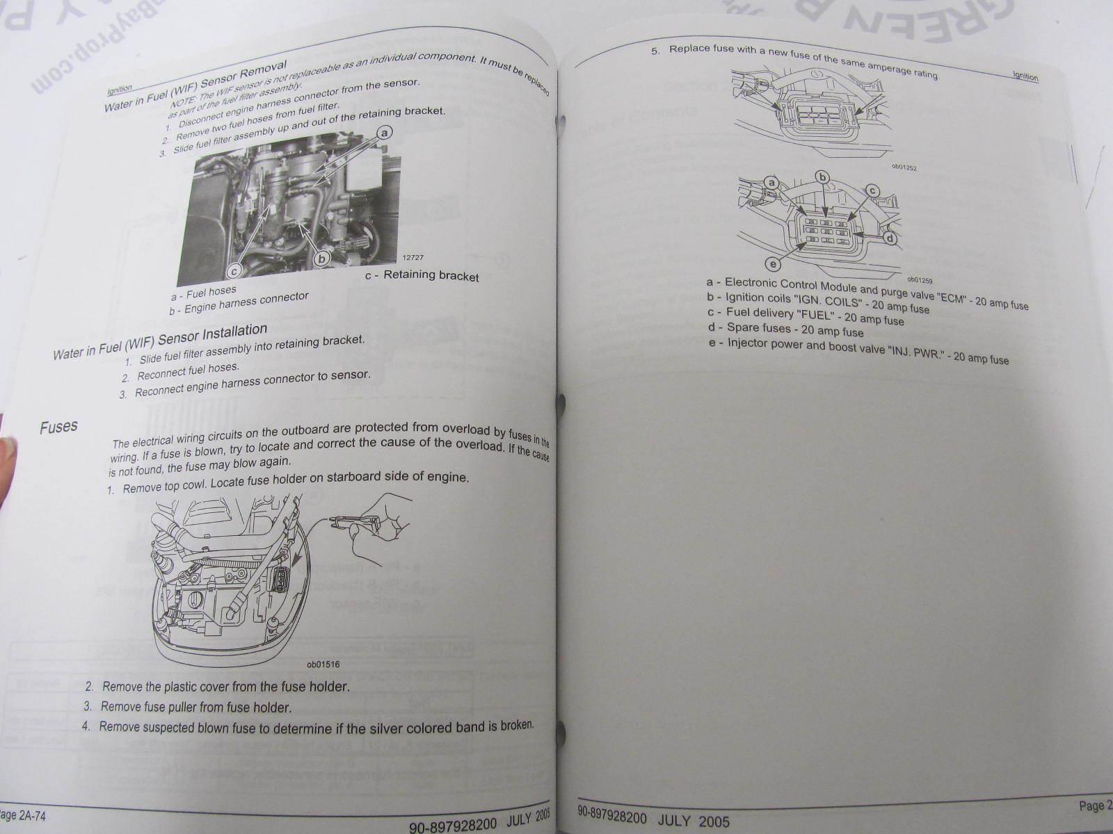 Mercury verado service manual