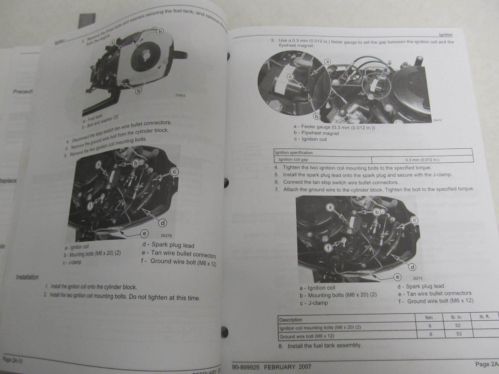 Tohatsu manual 90 2 Stroke