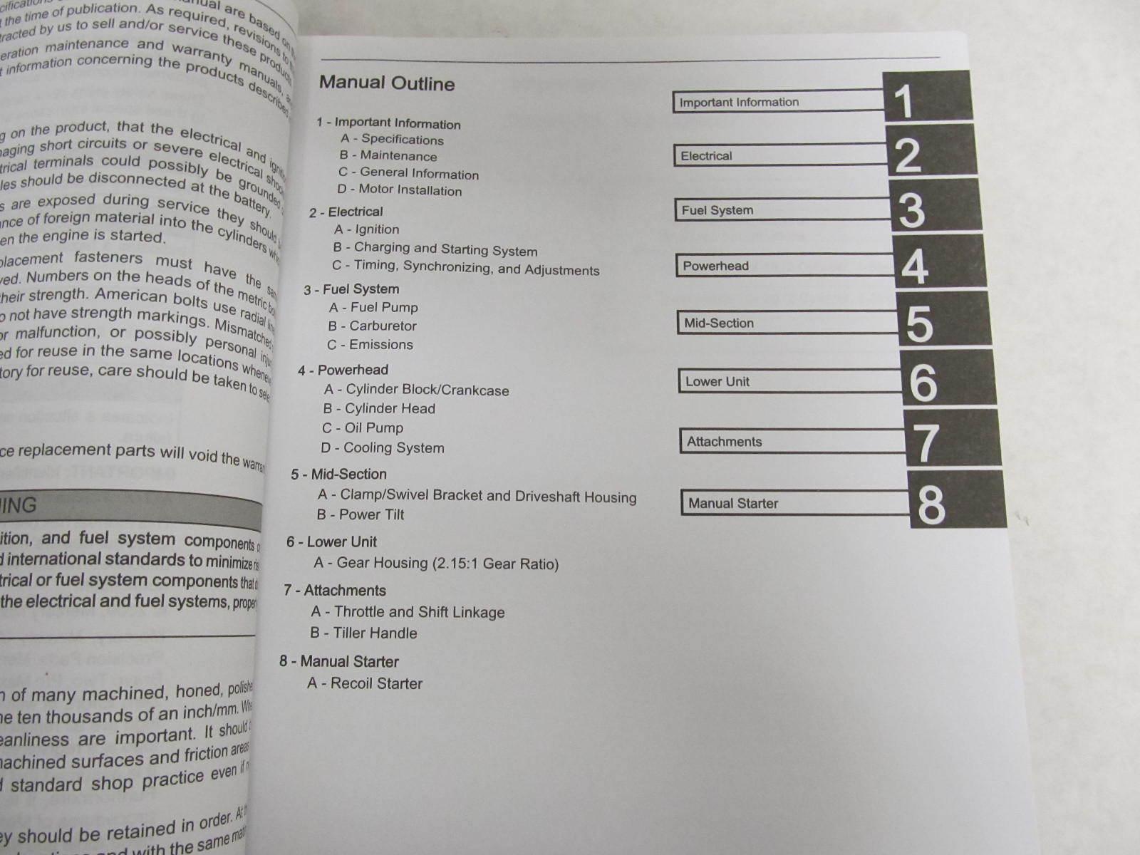 15 Hp Mercury 4 stroke Manual