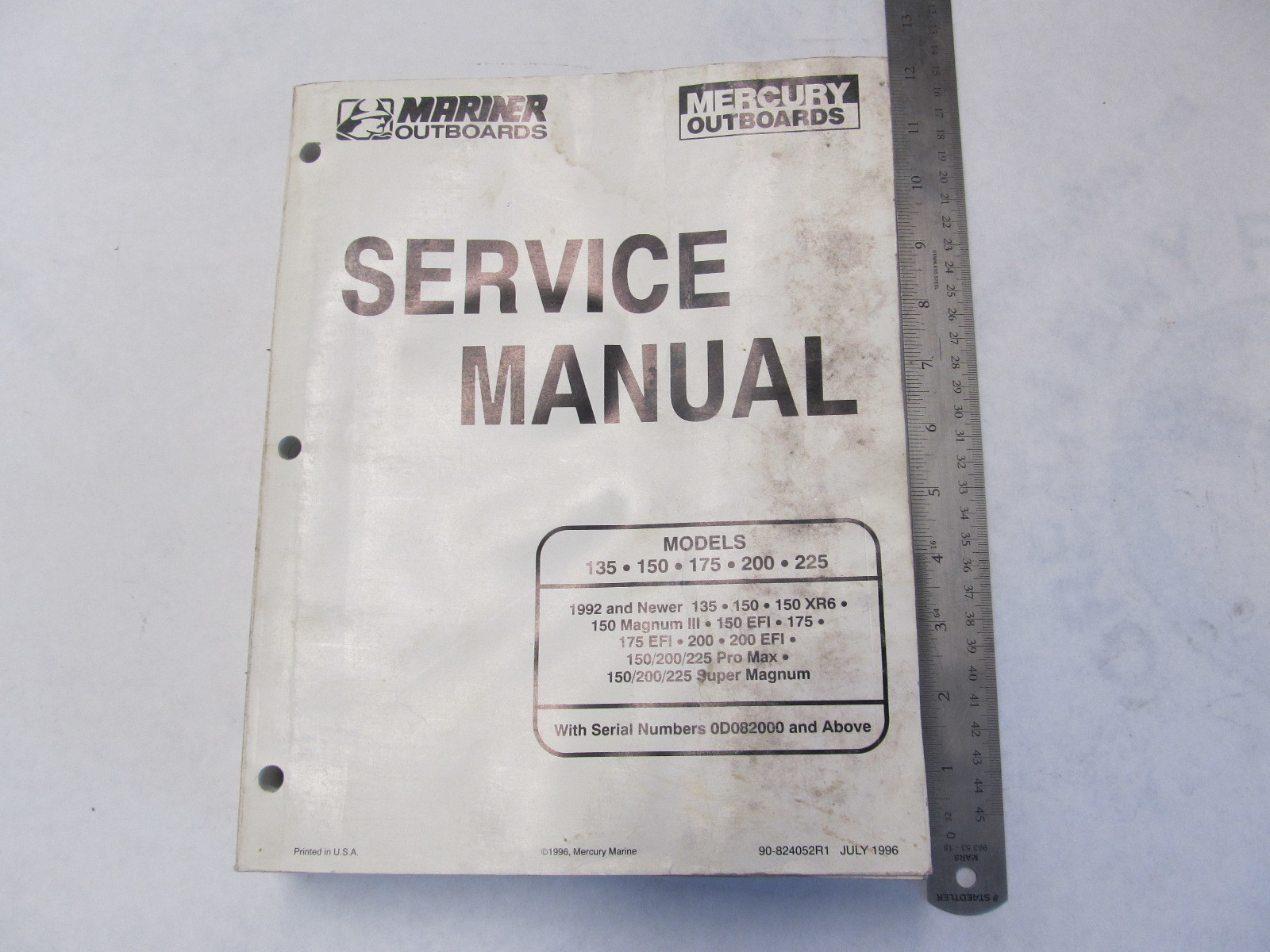 mariner outboard troubleshooting