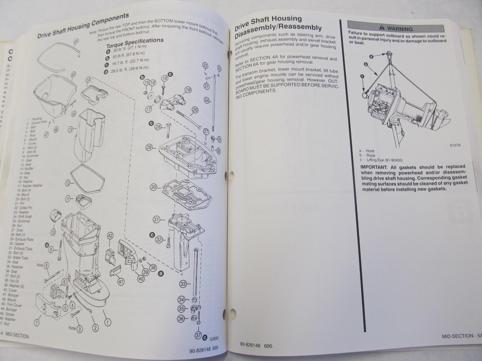 1995 mercury 40 hp outboard service manual pdf