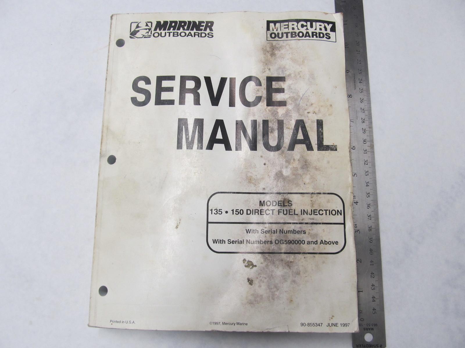 Manual Service Mercury 135 Hp