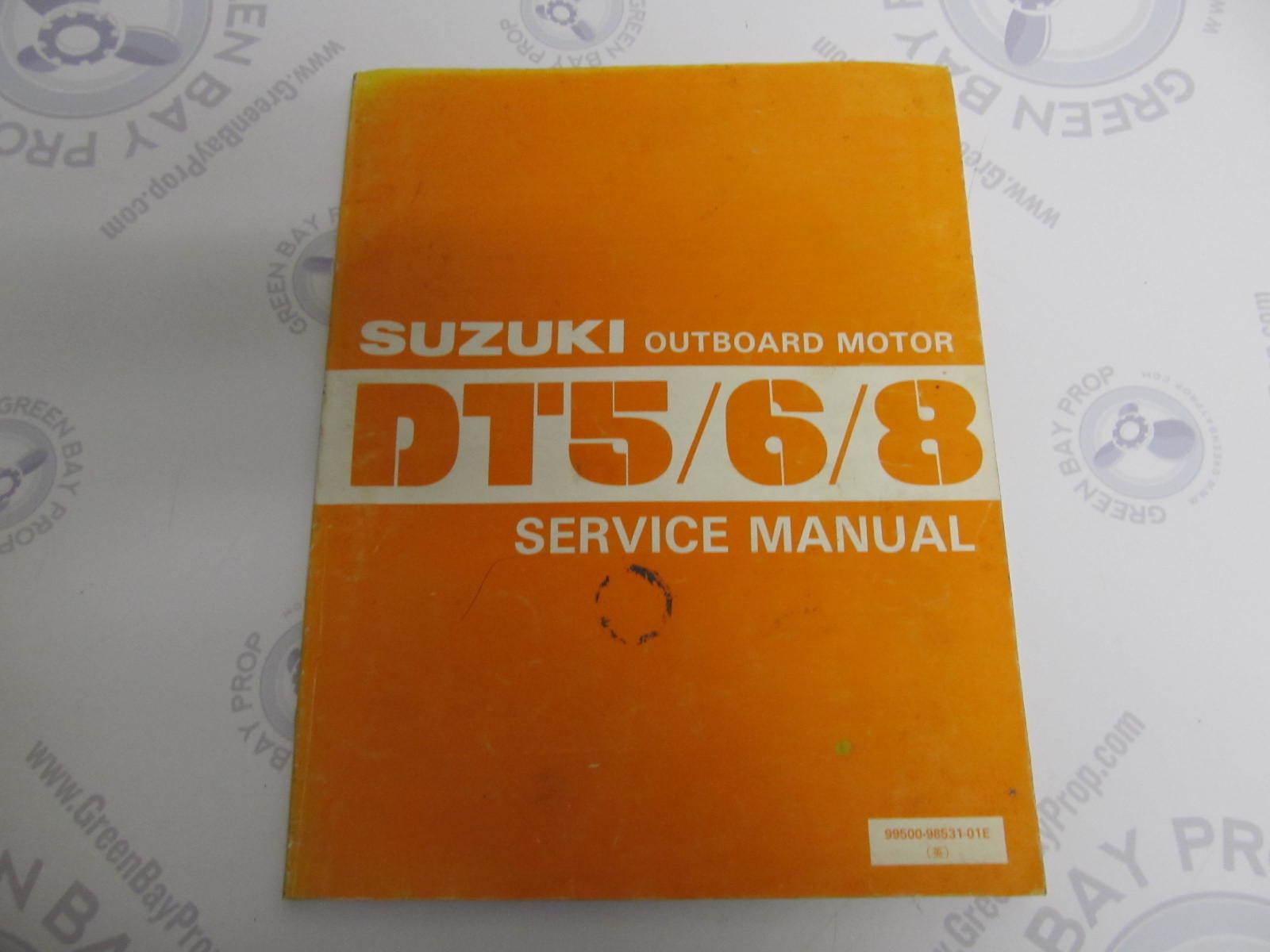 Suzuki Dt 3 5 manual