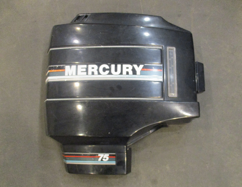 2187-9070A1 Mercury Mariner 3 Cyl Outboard 70-90 HP Right STBD Cowling 1987-1992