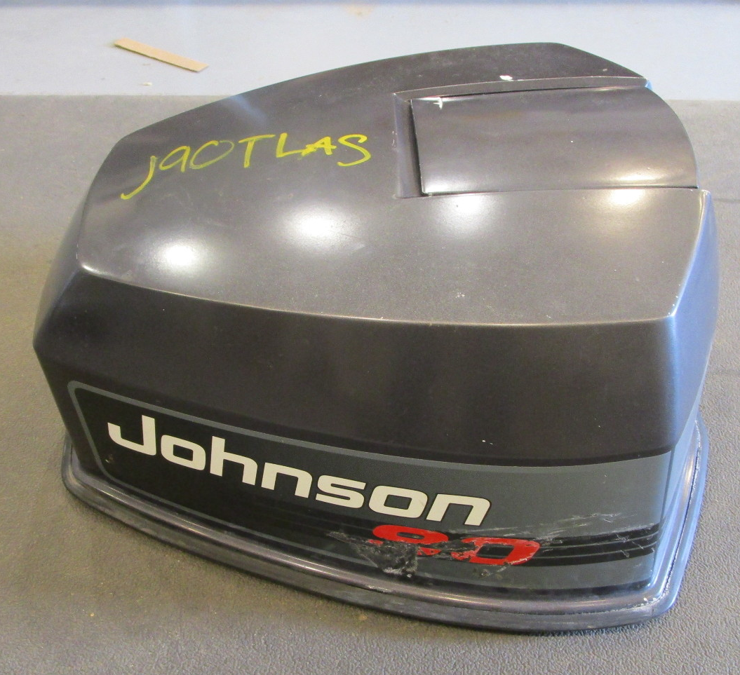 Evinrude Johnson 90 Hp V4 Motor Cowl Engine Cover Top