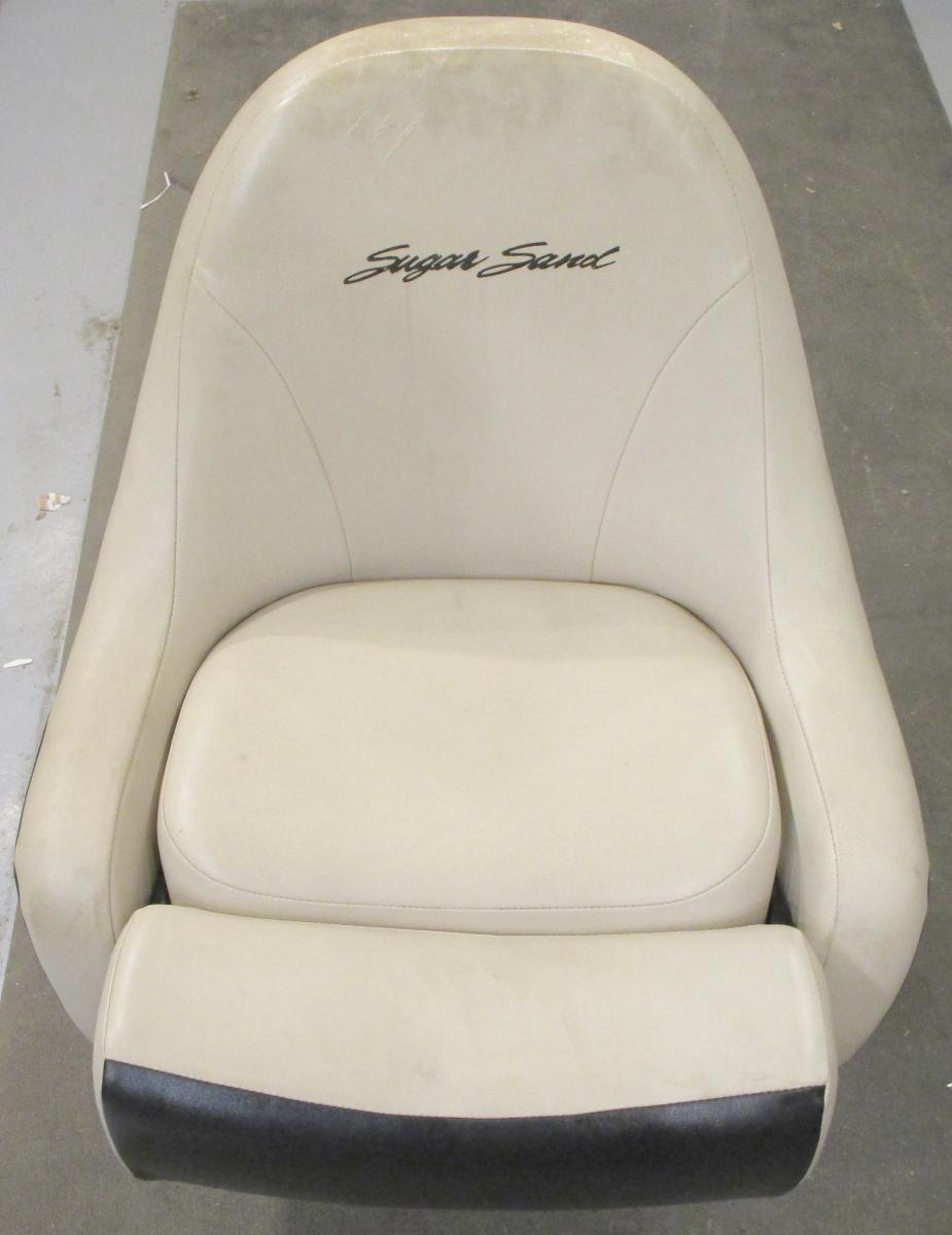 Sugar Sand Mirage Fun & Fish 1800 Boat Bolstered Captains Chair Seat