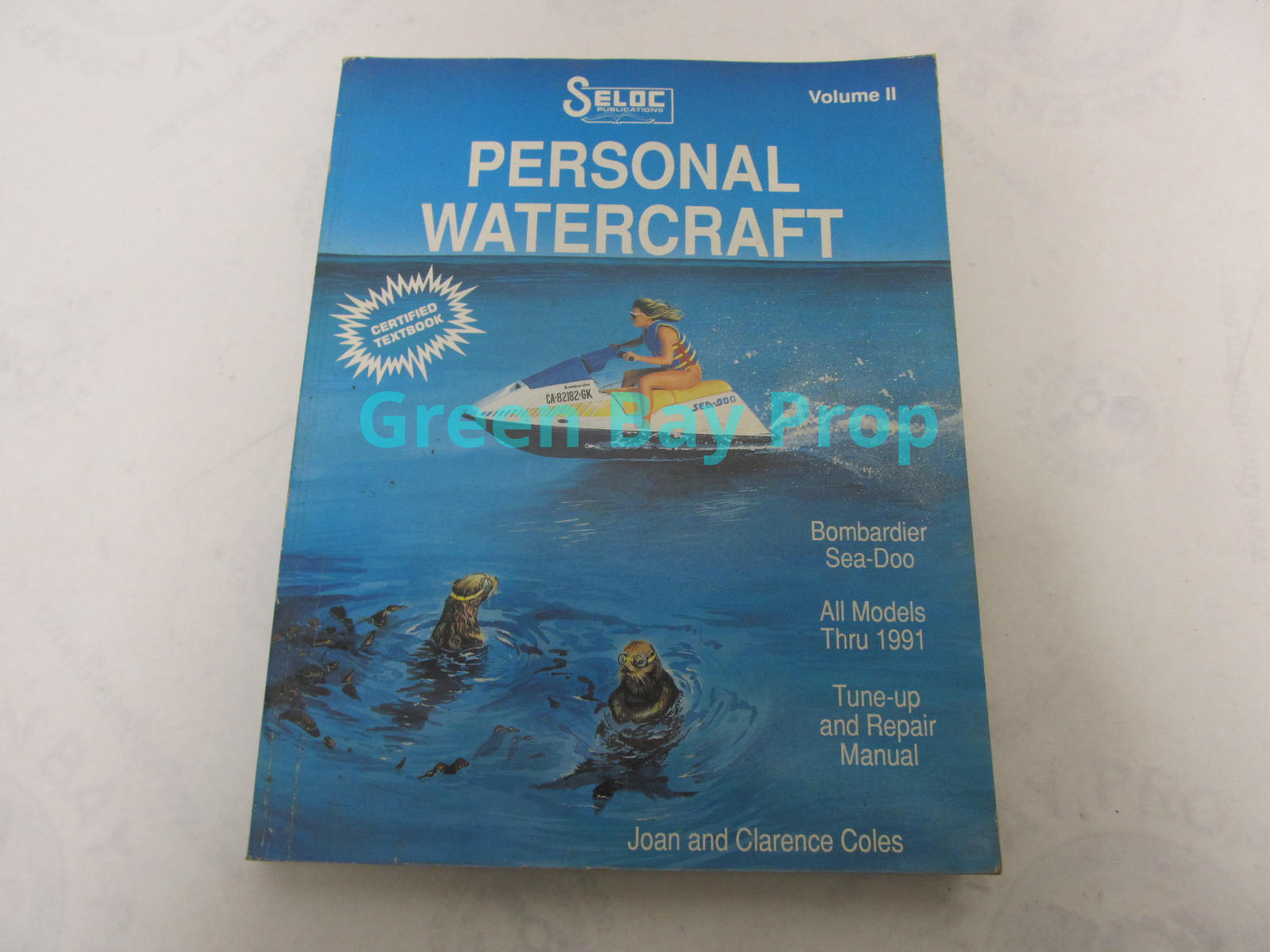 Personal Watercraft Volume Ii Repair Shop Service Manual