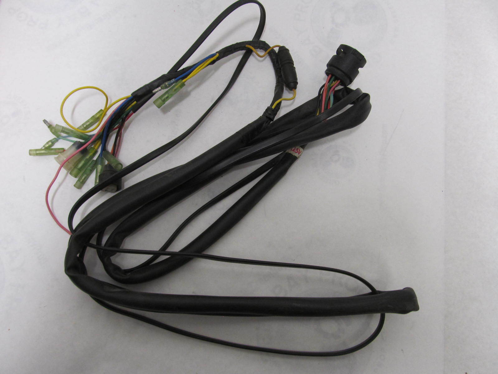 Yamaha Outboard Engine To Dash Wire Harness 10 2