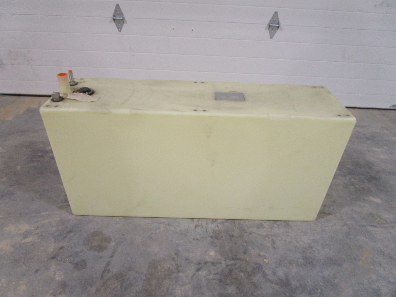Moeller Marine 50 Gallon Plastic Below Deck Fuel Gas Tank 45 x 21 3/4 x 12 3/8