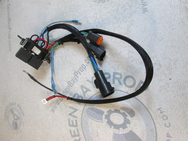0584947 Johnson Evinrude Outboard 150/175HP Tilt Trim Relay & Cable Assembly NLA