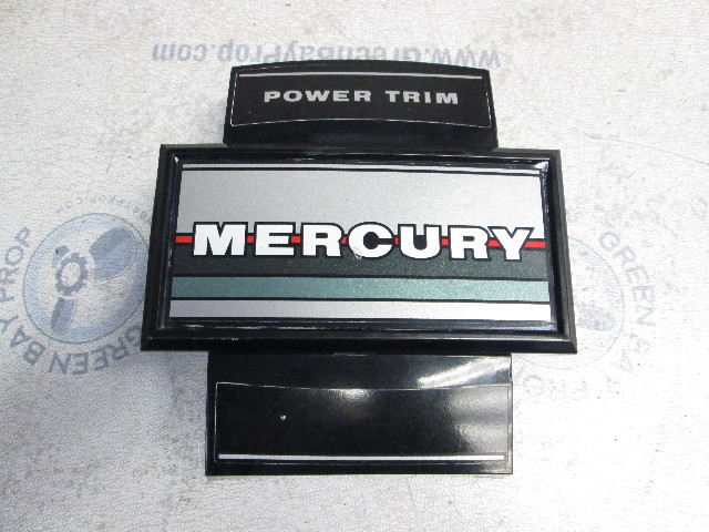 43138A2 Mercury Mariner 70-90 Hp 3 Cyl Outboard Front Cowl Cover & Bracket
