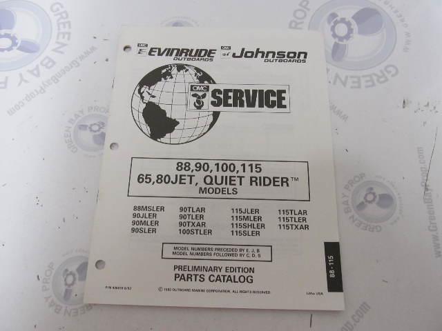 NOS OMC Johnson Evinrude 2 Piece Sems Screw Lot 0510397 510397