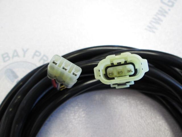 New OEM Honda 6 Pin PGM-FI Panel Extension Wiring Harness Part 32185-ZW5-000