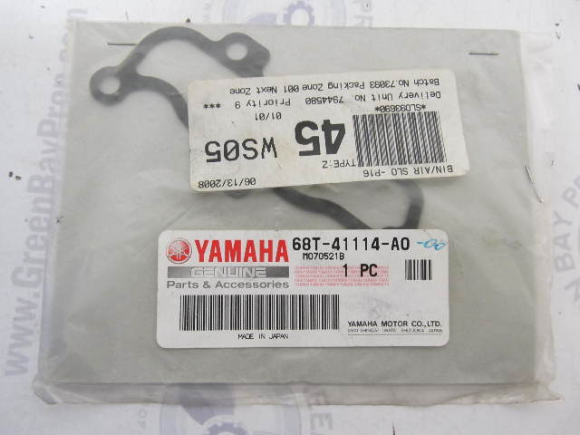 68T-41114-A0 Exhaust Outer Cover Gasket for Yamaha Outboard Engines
