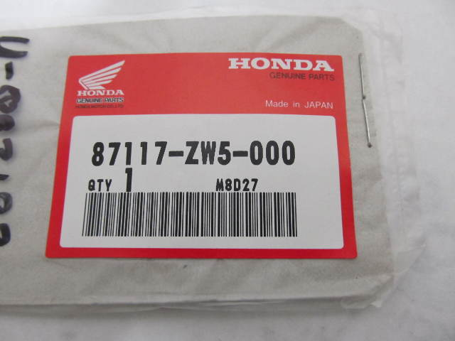 87117-ZW5-000 10A Fuse Mark Label Decal for Honda Outboard Engines