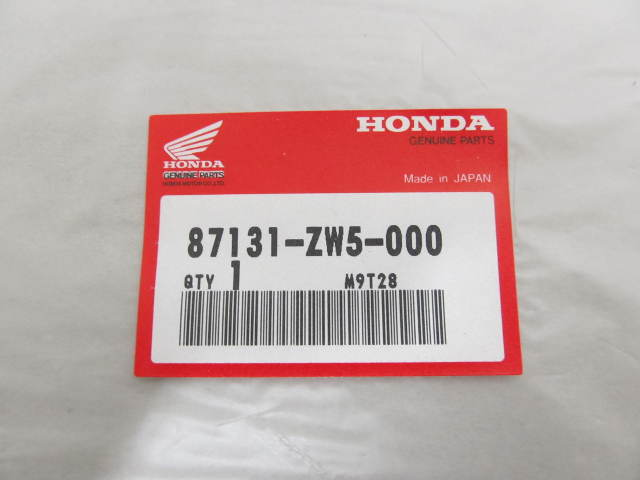 87131-ZW5-000 Honda Four Stroke Label Decal for Honda Outboard Cowl Side
