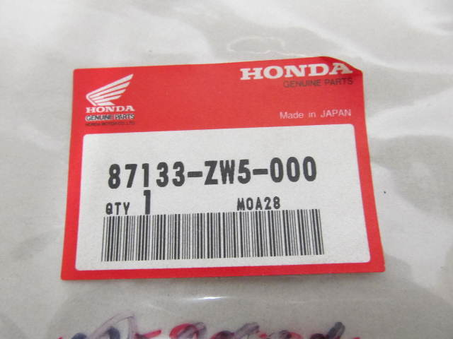 87133-ZW5-000 Cowl Right Side Stripe Mark Decal for Honda Outboard Engines