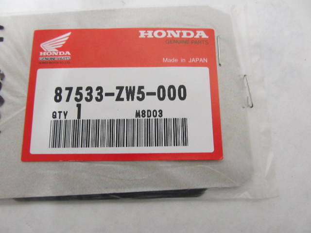 87533-ZW5-000 Muffler Mark Label Decal for Honda Outboard Engines