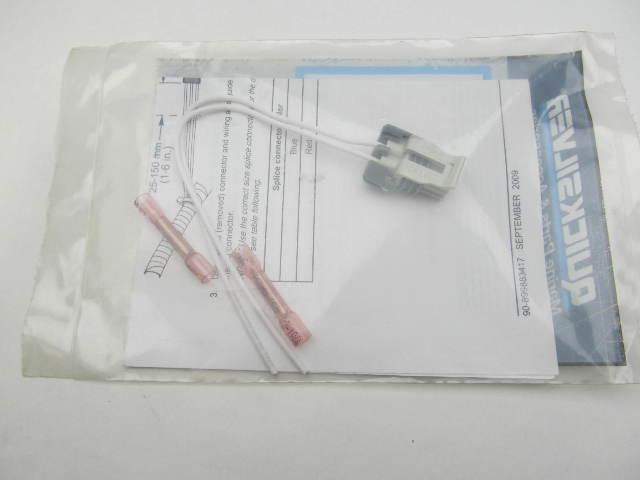 879346A33 Quicksilver 2 Pin Packard Repair Kit White fits Mercury Mariner Verado