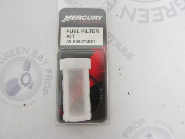 35-896375K01 Fuel Filter Kit for Mercury Mariner 6-60 HP Outboards