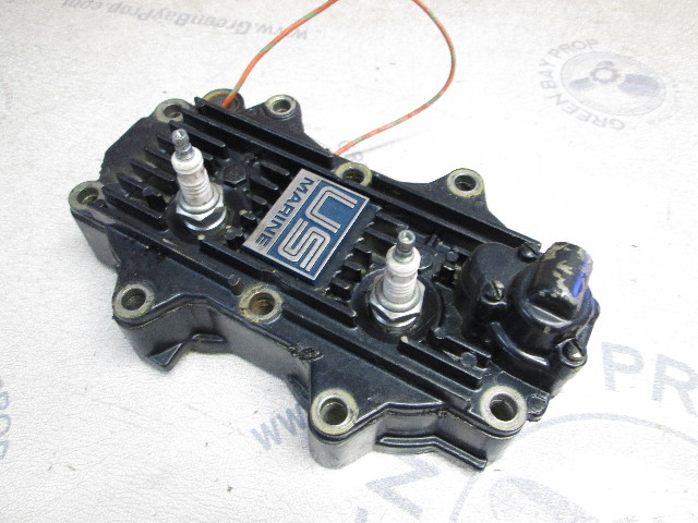 900-8198501 Cylinder Head with Cover for Force 40 Hp 50 Hp 2 Cyl Outboard