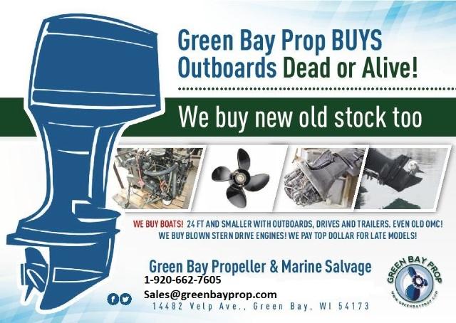 We Buy Boat Parts