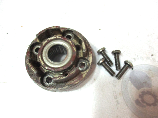 0379327 OMC Johnson Evinrude V4 Gearcase Head With Bearing & Bolts 1960's