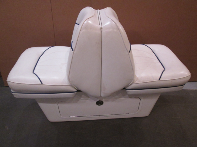 1998 Sea Ray Signature 230 Boat Back to Back Seat & Base Stand