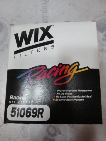 51069R WIX Racing High Performance Oil Filter