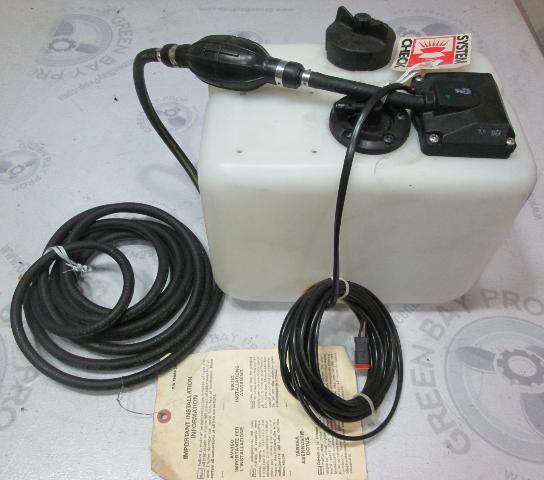 0176996 176996 OMC Evinrude Johnson 3 Gallon Oil Tank Kit