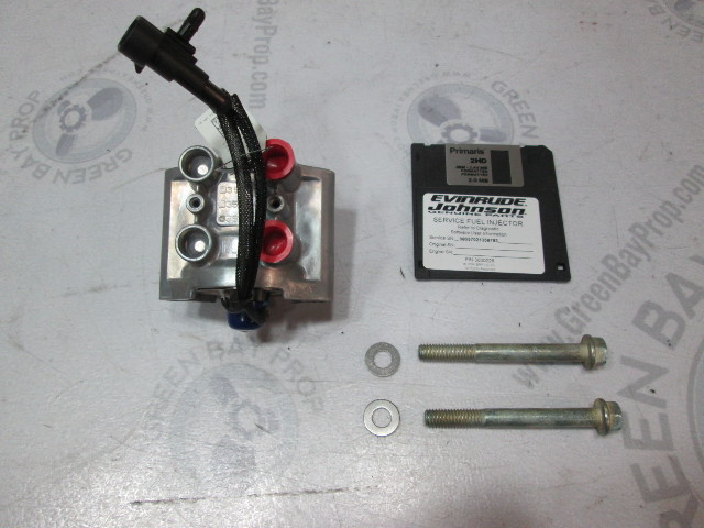 5007179 2007 Evinrude Outboard Port Fuel Injector Assembly 150-200 HP SUF Model