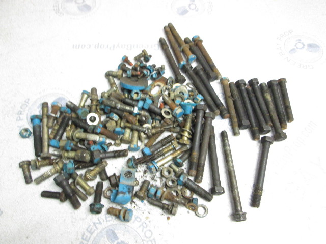 1982 OMC Chevy Stringer 3.8L Stern Drive Hardware Nuts Bolts Screws