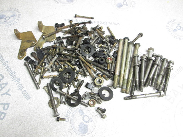 1998 Force 40/50 Hp Outboard Motor Misc Nuts Bolts Screws Washers Hardware