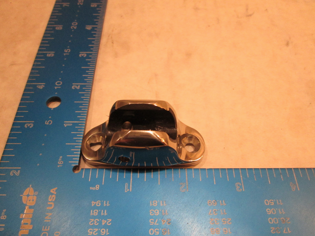 "Taco Concave Deck Hinge Ball And Socket Bimini Top Fitting For 1"" O.D. Tube"