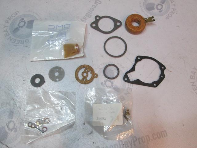 439475 0439075 Evinrude Johnson 40Hp Outboard Carburetor Rebuild Kit