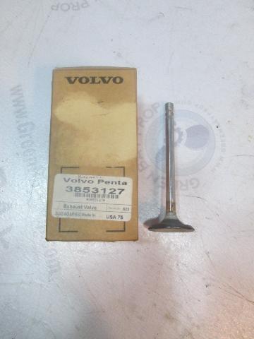 3853127 Standard Exhaust Valve For Volvo Penta 3.0L Gas Engines