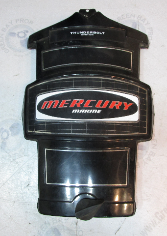 5631A4 Mercury Outboard 6 Cylinder Thunderbolt Front Cowling Cover 1980's Black
