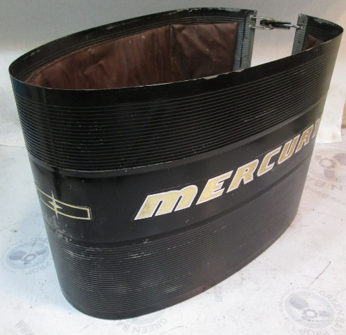 2120-2509A3 1965 Mercury 900 Inline 6 Cyl Outboard Wrap Around Cowl Cover
