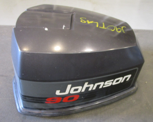 Evinrude Johnson 90 HP V4 Motor Cowl Engine Cover Top Cowling Hood 1990's
