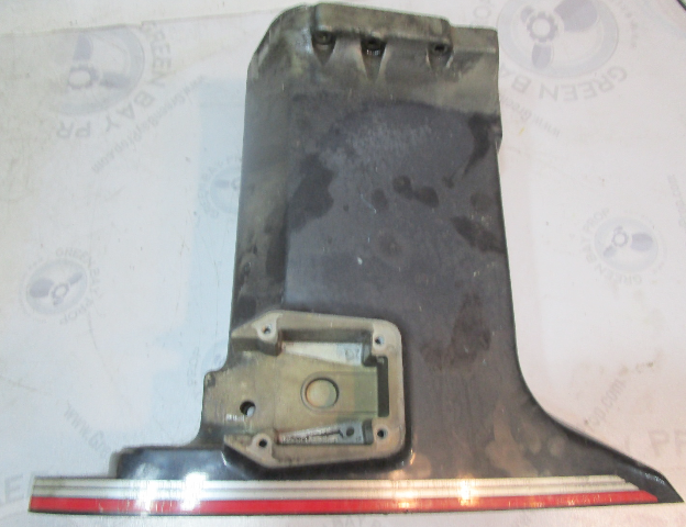 """0337826 Evinrude Johnson 20"""" Blue Exhaust Housing Midsection 85-115 Hp"""