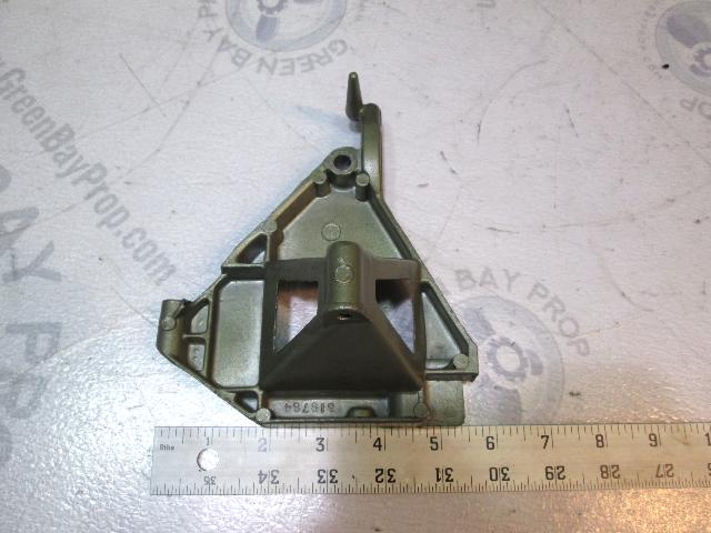 0319764 Port Manual Starter Mounting Bracket Evinrude Johnson 25 Hp 1974-76