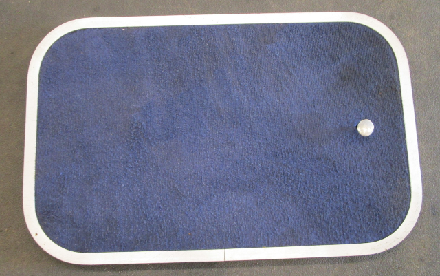 "1988 Bayliner Capri Blue Cabin Floor Hatch Cover 27 1/2"" x 17 1/2"""