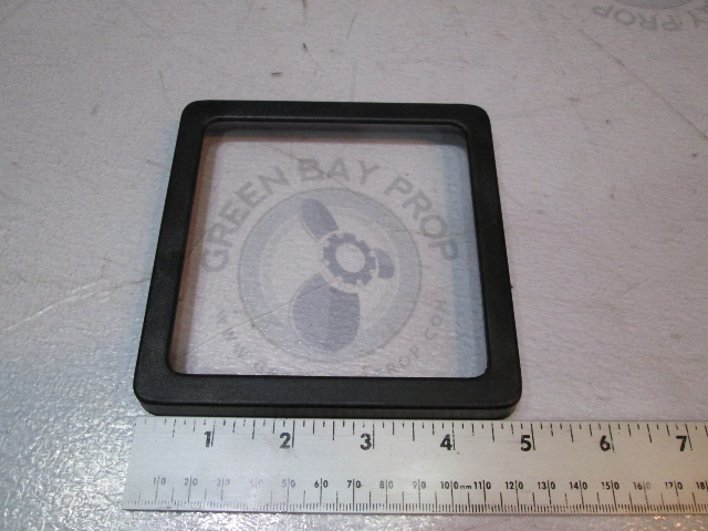 80's Bayliner Green Square Face Speedometer/Tachometer Bezel