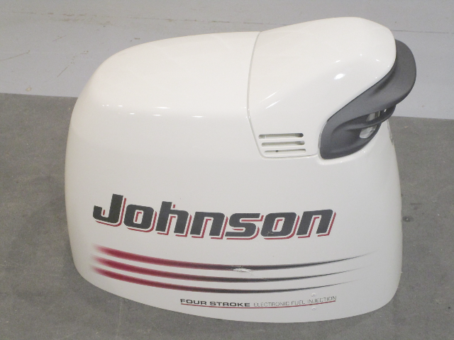 5033959 Johnson Evinrude Engine Cover Top Hood Motor Cowl 140 HP 4 STRK  2003-05