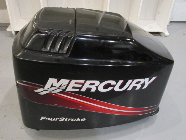 827328t9 Mercury Mariner Outboard 75 90 115 Hp 4 Stk Top Cowl Motor Cover Hood Ebay