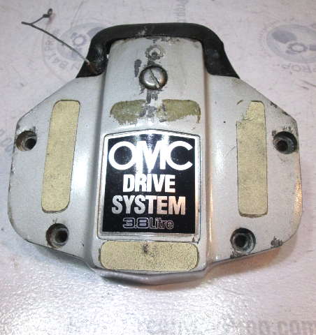 0981099 OMC Stringer 3.8L Stern Drive Upper Unit Exhaust Housing Cover '78-'85