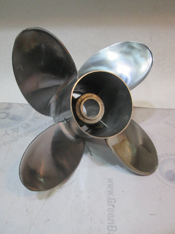 48-825899A45 Mercury Offshore Series 4 Blade Stainless Prop 14 1/2 X 17P LH