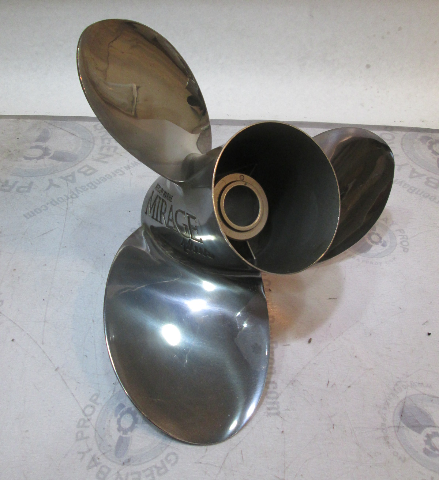 "48-19838A46 Mercury Mirage Plus Stainless Propeller 15 3/4"" X 15P RH ROTATION"