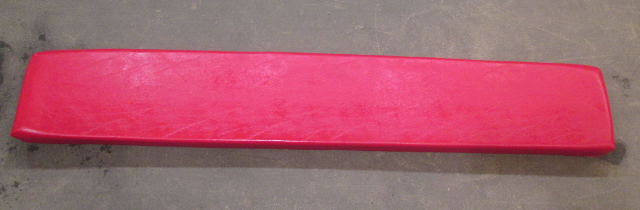 "1995 Glastron GS 160 Red Cushion 63""W X 10 1/2""H"
