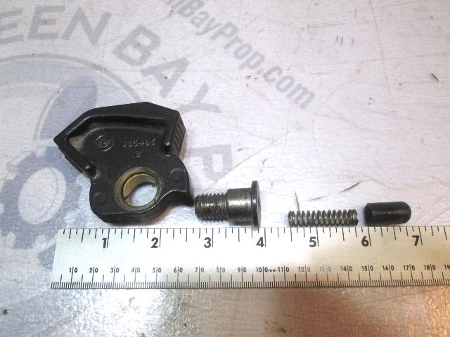 0335485 Evinrude Johnson Outboard Light Gray/Silver Tilt Lock Lever & Screw